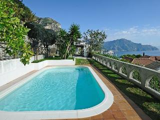 Villa Sofia - with wonderfull seaview, garden+pool - Conca dei Marini vacation rentals