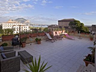 Dreaming Palermo panoramic terrace - Sicily vacation rentals