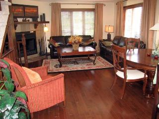 Affordable Award Winning Golf Chalet - Fireplace, Jacuzzi, HD TV, and WiFi - Mont Tremblant vacation rentals