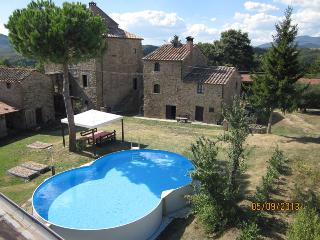 Amazing 11th Century Castle Pianettole - be the only guests! - Anghiari vacation rentals