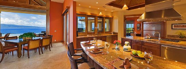 Horizons of Gold is a spectacular four bedroom villa located on over 4 acres within Maui's premier golf community of Kapalua. - Horizons of Gold - Kapalua - rentals