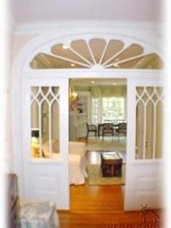 Original arch leading from hall to dining room. - Tranquil setting near all San Francisco has to offer - San Francisco - rentals