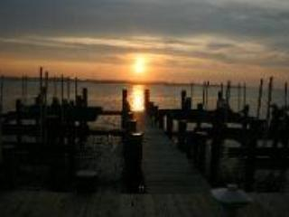 sunset from the deck - At 10th street -Bahia Vista Bay Front -Luxury Condo-Still available for Sunfest - Ocean City - rentals
