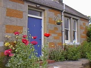 front of cottage - Character  holiday cottage near Edinburgh Scotland - Fife & Saint Andrews - rentals