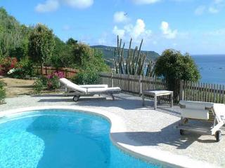 Private family villa high in Colombier with superb views of Gustavia Harbor WV DAN - Barbados vacation rentals