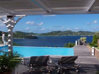 Spacious villa with a large terrace for enjoying the ocean view	 WV DOR - Pointe Milou vacation rentals