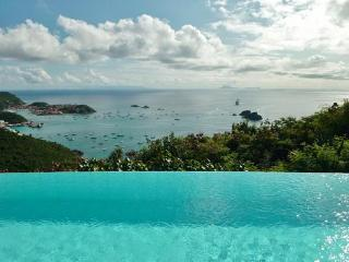 Located high in Colombier offering stunning views of Gustavia Harbor WV MGO - Colombier vacation rentals