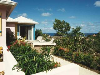Hillside cottage with colorful décor and pastoral/ocean views WV STC - Barbados vacation rentals