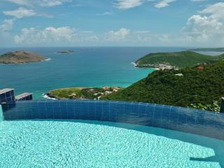 Luxury villa tucked away high in the hills on the tip of the island WV VHM - Colombier vacation rentals