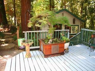 Guerneville Cottage, Decks, Skylight,Hot Tub! - Russian River vacation rentals