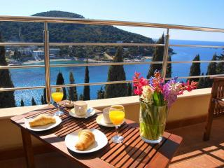 Heure Bleue- 2BR  balcony, amazing views & parking! - Dubrovnik vacation rentals