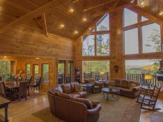Luxury Log Lodge - Firepit, Game Room, Mtn View - Gatlinburg vacation rentals