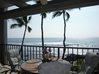 Absolute OCEANFRONT  on  Banyan's Surfing Beach! - Kailua-Kona vacation rentals