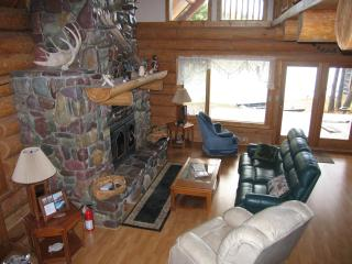 Glacier Chalet - Custom Log Home on the River - Glacier National Park Area vacation rentals