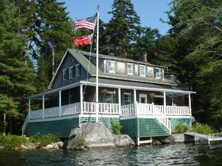Lakeside Cottage on Maine's Down East Coast - DownEast and Acadia Maine vacation rentals