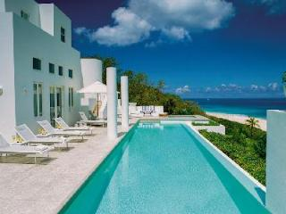 Sea Villa - Beachfront, 4 Master Suites each with Terrace, Daily Breakfast - Long Bay Village vacation rentals