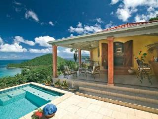 Tara - Beautiful villa in tranquil neighborhood with pool & lovely sea views - Tortola vacation rentals
