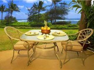 Kaha Lani Resort #121-OCEANFRONT, King Bed! - Image 1 - Kapaa - rentals