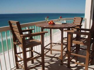 Beach Front View 2 Bedrm C Dolphins from balcony - Destin vacation rentals