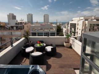 Amazing Penthouse with a Private roof and sea view - Tel Aviv vacation rentals