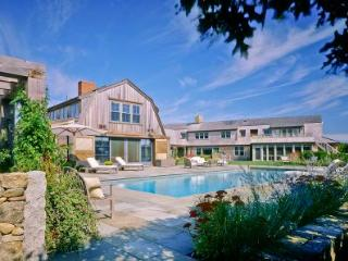 OCEANFRONT LUXURY ESTATE WITH GUEST HOUSE, POOL AND PRIVATE BEACH - EDG WADA-58 - Edgartown vacation rentals