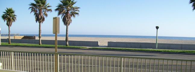 Ocean view from the patio. - Full Ocean View Condo-Port Hueneme, Ventura, CA - Ventura - rentals