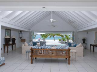 Antigua Whitehouse at Jolly Harbour, Antigua. Directly on the Beach, Gated Community, Pool, Walk to Restaurants, Shops, Golf - Antigua and Barbuda vacation rentals