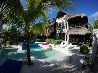 SOMBRAS DEL VIENTO,a luxurious house on the beach - Tulum vacation rentals