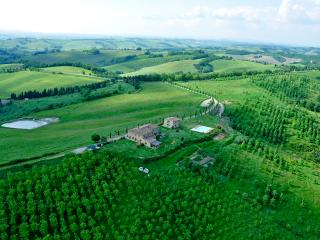 CHARMING COUNTRY HOME NEAR SIENA - STUNNING VIEWS - Buonconvento vacation rentals