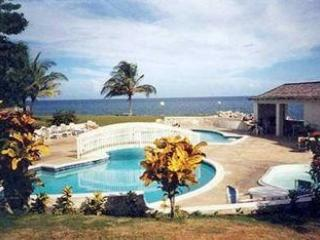 Spacious beachfront condo - Ocho Rios vacation rentals