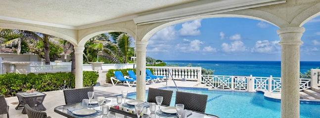 Outdoor Sitting Area with pool - Windermere Luxury Villa - Saint Philip - rentals