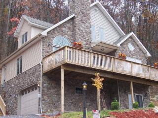 EAGLE ROCK RESORT-STONE CHALET-free ski,golf, tennis - Hazleton vacation rentals
