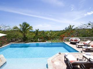 JARDIN CREOLE...  only 360 easy yards to the soft sand of Plum Baie beach! - Terres Basses vacation rentals