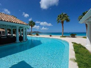 PETITE PLAGE V... Stunning New Ultra Deluxe Beachfront Estate on St Martin! - Grand Case vacation rentals