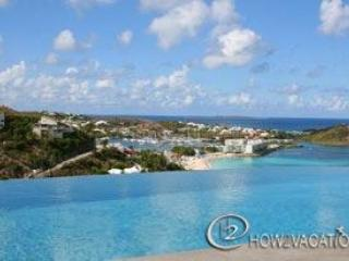 BOUGAINVILLEA...5 BR St Maarten Rental house with fabulous views overlooking Dawn Beach & St. Barths - BOUGAINVILLEA...fabulous views overlooking Dawn Beach & St. Barths - Oyster Pond - rentals