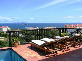 MOONDANCE... sweet, affordable hillside villa with expansive views - Terres Basses vacation rentals