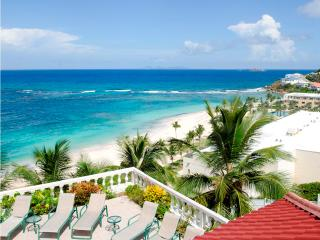 SEA CASTLE... 4 BR private Oyster Pond villa with beach access and views! - Saint Martin-Sint Maarten vacation rentals