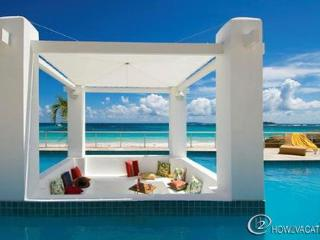ALABASTER...  A lovely, luxurious beachfront villa in Coral Beach Club on Dawn Beach - Oyster Pond vacation rentals