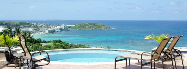 Beach Daze...Oyster Pond, Dutch St Maarten - BEACH DAZE... Cozy villa on top of the hill in Dawn Beach Estates - Oyster Pond - rentals