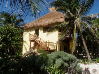 Sol Caribe - 2 story  family cabaña on the beach - Punta Allen vacation rentals