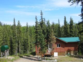 Cabin rental in Alaska's quiet, wilderness setting - Alaska vacation rentals