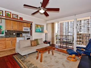 Fairway Villa #1114 - Great views, deluxe one-bedroom, AC, washer/dryer, washlet, WiFi, parking. - Oahu vacation rentals