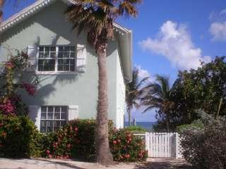 front of house - OCEANFRONT VILLA ON PRIVATE, SANDY BEACH - Grand Cayman - rentals