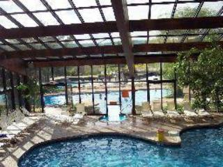 Spa has it all, 3 pools indoor & out, sauna, 2 jacucies, steam, track, workout room, and more - Ski on Ski off,  4 Season Resort 3 b.r. 2 b. condo - Vernon - rentals