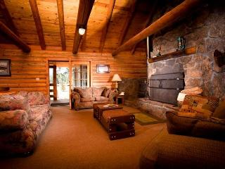 12 guest log cabin premier Ashland Oregon ranch - Southern Oregon vacation rentals