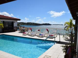 VILLA OCEAN'S EDGE - Romantic, Pool, Oceanfront - Red Hook vacation rentals