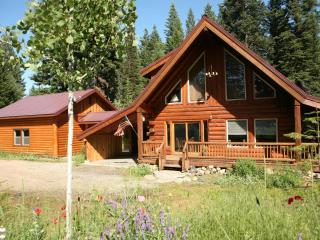 The Real McCall Log Cabin with secluded Hot Tub - McCall vacation rentals