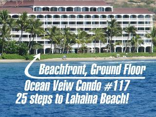 Beach at Your Door! Oceanfront Ground Floor Condo - Lahaina vacation rentals