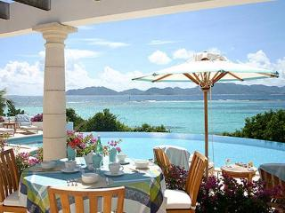 This charming new villa with stunning ocean views embraces an Italian influence in its architecture. IDP ALE - Anguilla vacation rentals
