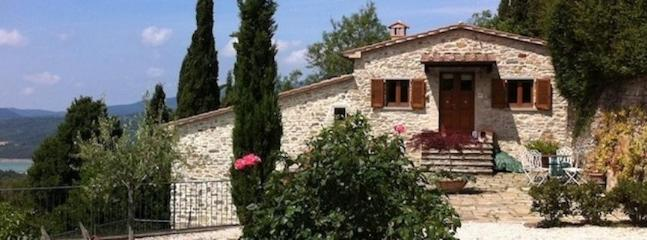 Entrance - Il Castelletto-Upper Tiber Valley- SE Tuscany - Sansepolcro - rentals